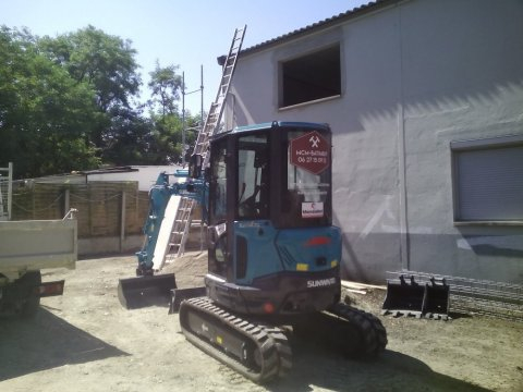 Entreprise générale du bâtiment pour travauxen aménagement extérieur à Chambéry