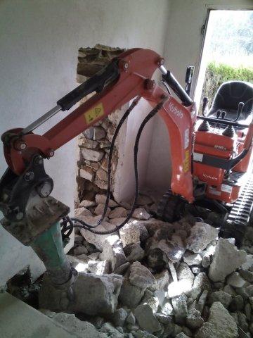 Entreprise de maçonnerie à La Motte-Servolex pour démolition et reprise de maçonerie
