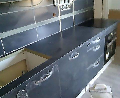 Pose de carrelage d'une cuisine bissy à Chambéry