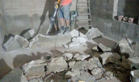 Professionnel expérimenté dans la démolition et l'évacuation de blocs de béton sur Annecy