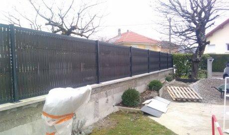 Entreprise spécialisée rénovation de mur de clôture Bissy - Chambéry